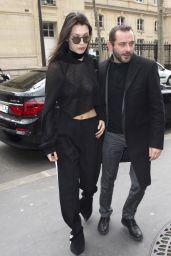 Bella Hadid - Paris Steet Style 3/6/2016