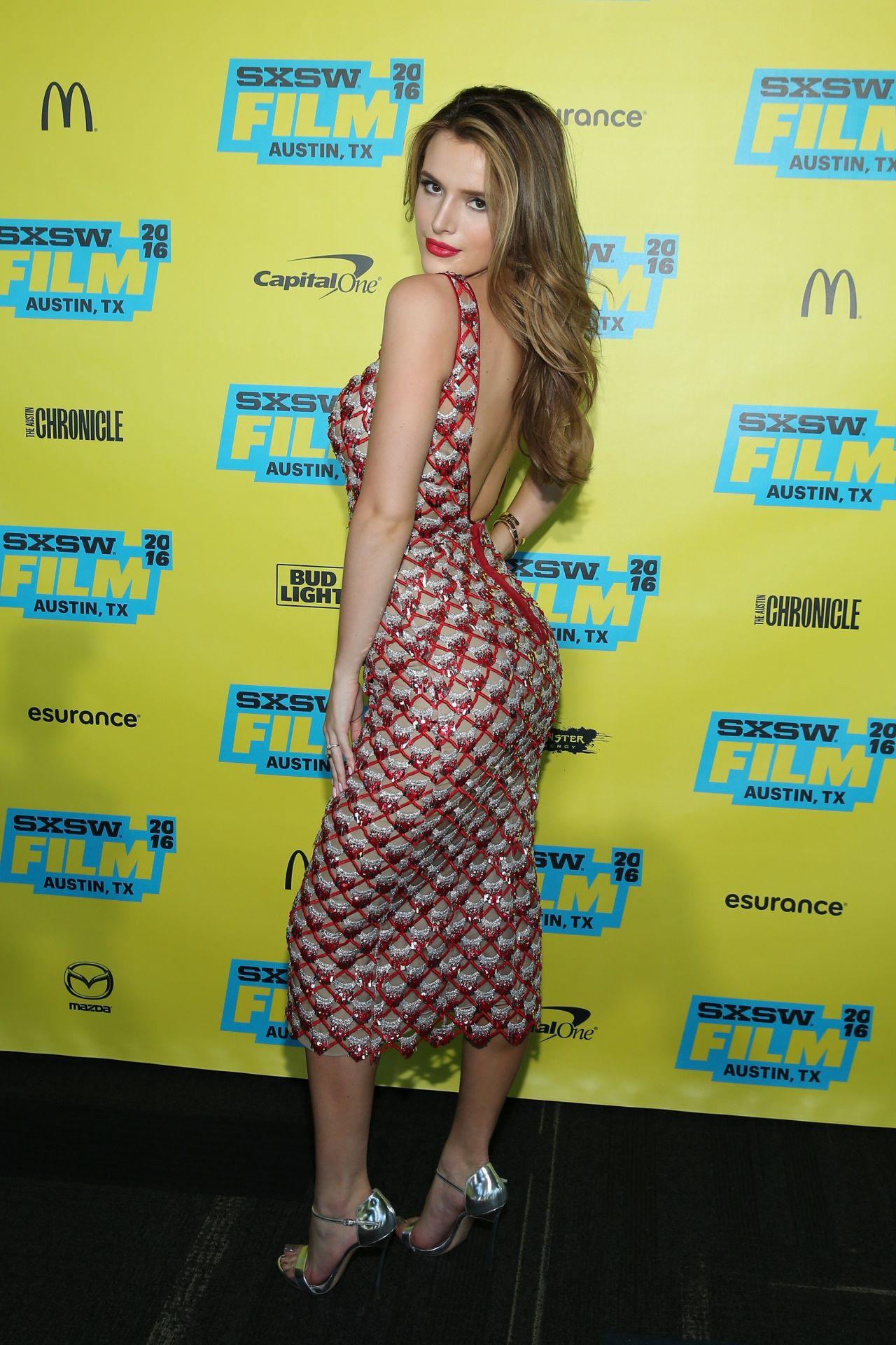 Bella Thorne en festival de cine alternativo
