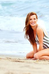 Bella Thorne Swimsuit Pics - On Set of a Beach Photoshoot in Malibu 3/17/2016