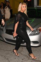 Blac Chyna and Rob Kardashian all Smiles - Night Out in Atlanta 3/27/2016