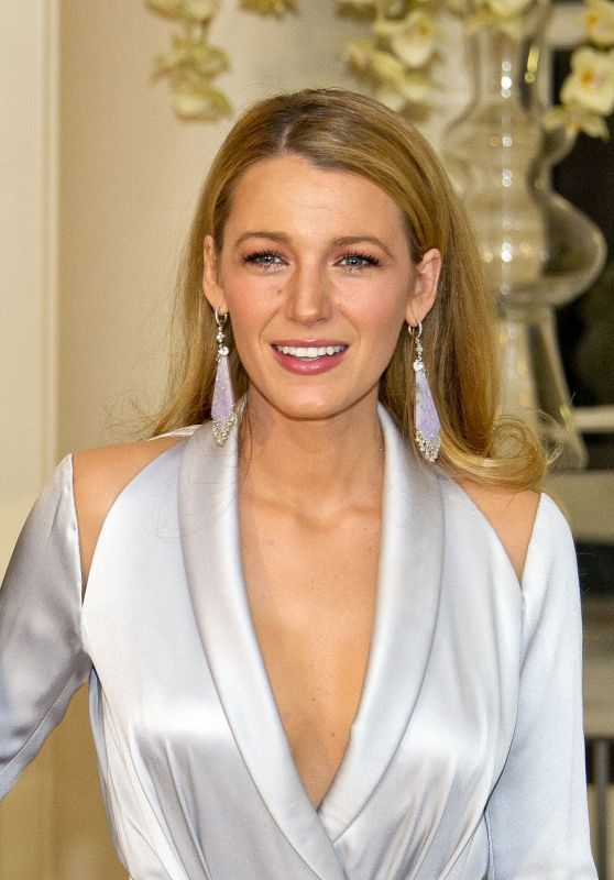 Blake Lively - Trudeau State Dinner in Washington, DC 3/10/2016