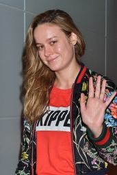 Brie Larson at Tokyo International Airport, March 2016