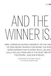 Brie Larson - Elle Magazine Malaysia 2016 Issue