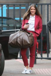 Brooke Vincent - Outside ITV Studios in London 3/8/2016