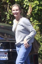 Cameron Diaz - Out in West Hollywood 3/26/2016