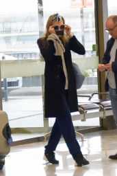 Cara Delevingne Airport Style - at Paris Orly Airport 3/23/16
