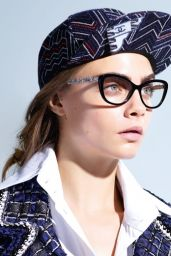 Cara Delevingne - Chanel Eyewear Spring 2016