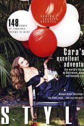 Cara Delevingne - Sunday Times Style Magazine February 28, 2016