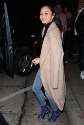 Cara Santana - After Enjoying Dinner With Friends at Craig