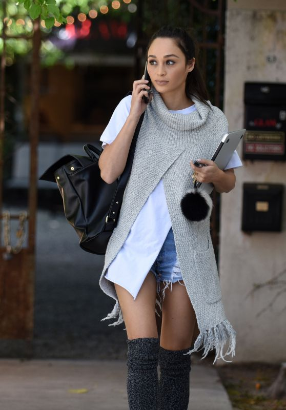 Cara Santana Casual Style - Leaving work in West Hollywood, March 2016