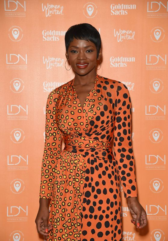 Caroline Chikezie - Women United Photo Call at The National Portrait Gallery in London 3/7/2016