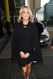 Carrie Underwood at BBC Breakfast in Manchester, UK 3/10/2016