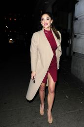 Casey Batchelor Night Out Style - at Novikov Restaurant in London's Mayfair, March 2016