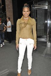 Cassie Ventura Casual Style - Out in NYC 3/10/2016