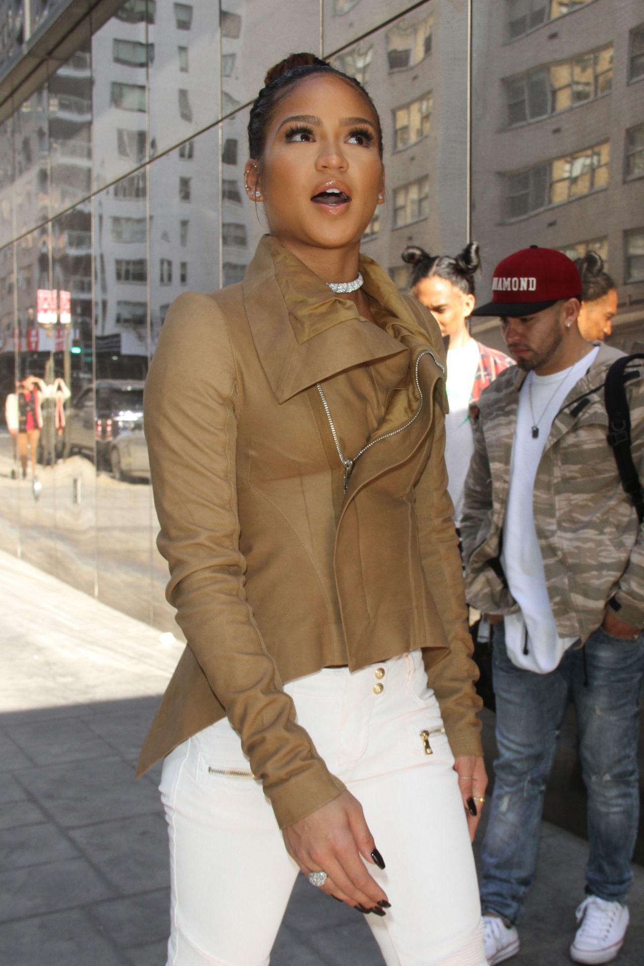 Cassie Ventura Casual Style – Out in NYC 3/10/2016