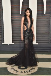 Chanel Iman – 2016 Vanity Fair Oscar Party in Beverly Hills, CA