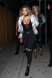 Chantel Jeffries Night Out Style - Leaves The Nice Guy Club in West Hollywood 3/26/2016