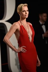 Charlize Theron – 2016 Vanity Fair Oscar Party in Beverly Hills, CA