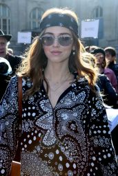 Chiara Ferragni at Chloe Show – Paris Fashion Week Womenswear Fall/Winter 2016/2017
