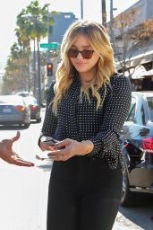 Chloë Grace Moretz Style - Lunch at Il Pastaio in Beverly Hills, 3/17/2016