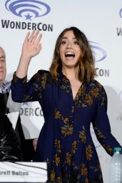 Chloe Bennet – Marvel's Agents of SHIELD Panel at WonderCon in Los Angeles 3/26/2016