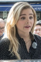 Chloe Grace Moretz - Out in Seoul, South Korea 3/6/2016