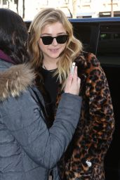 Chloe Moretz Style - at the Prince de Galles Hotel in Paris 2/29/2016