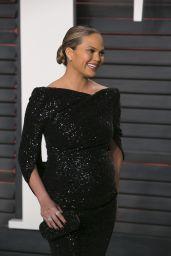 Chrissy Teigen – 2016 Vanity Fair Oscar Party in Beverly Hills, CA
