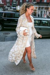 Chrissy Teigen - After Celebrating Baby Shower in New York City, NY 3/6/2016