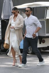 Chrissy Teigen Fashion - at the Bel Air Hotel in Beverly Hills 3/20/2016