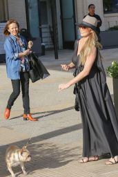 Chrissy Teigen Stops by Barneys New York 3/14/2016