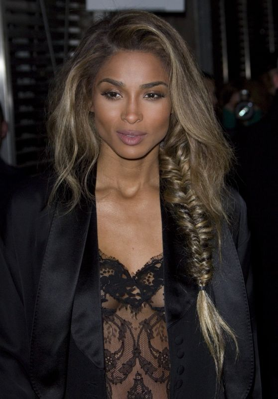 Ciara at Givenchy Show – Paris Fashion Week 3/6/2016