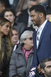 Ciara at Match PSG-Montpellier in Paris 3/5/2016