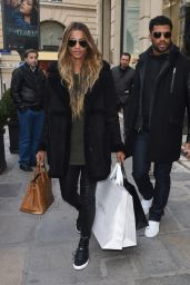 Ciara - Shopping in Paris, France 3/6/2016