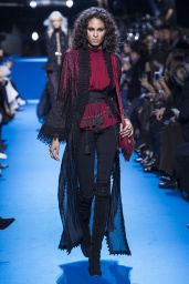 Cindy Bruna – Elie Saab Show at Paris Fashion Week, March 2016