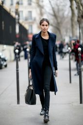 Cindy Bruna – Streetstyle Photoshoot in Paris, March 2016