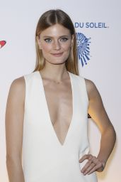 Constance Jablonski – One Night for ONE DROP Blue Carpet in Las Vegas 3/18/2016