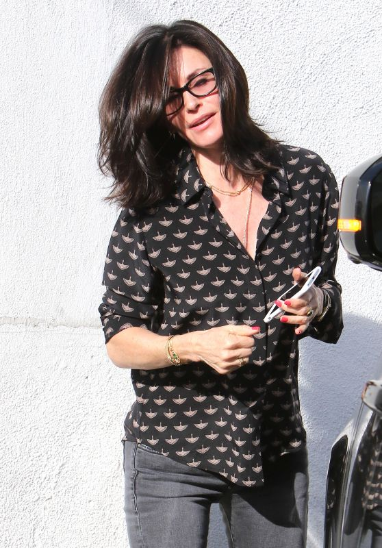 Courteney Cox - Out in Beverly Hills, CA 3/14/2016