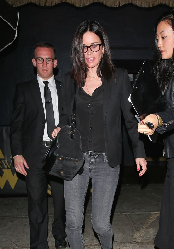 Courteney Cox – Reese Witherspoon's 40th Birthday Party at the Warwick Nightclub in Los Angeles  Posted on March 21, 2016 Written by D