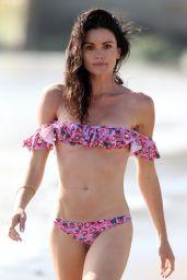 Courtney Robertson in a Bikini on the Beach in Malibu 3/27/2016
