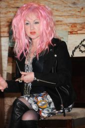 Cyndi Lauper - Press Conference to Launch New County Album