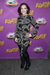 Daisy Eagan – Opening Night of the Broadway Musical 'Disaster' in New York City