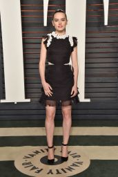 Daisy Ridley – 2016 Vanity Fair Oscar Party in Beverly Hills, CA