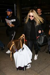 Dakota Fanning at LAX Airport in LA 3/9/2016