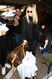 Dakota Fanning at LAX Airport in LA 3/9/2016