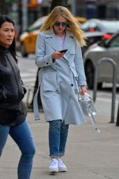 Dakota Fanning - Out in New York City 3/27/2016