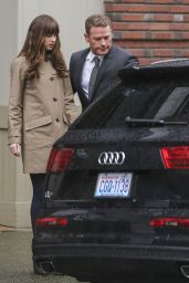 Dakota Johnson and Jamie Dornan - Darker Set in Vancouver, March 2016