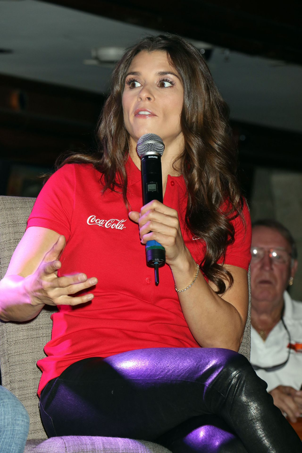 Danica Patrick Nascar Q Amp A At The Mirage Race Amp Sports Book In Las Vegas 3 5 2016