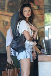 Danielle Campbell - Outside Deus Ex Machine in Venice, CA 3/17/2016
