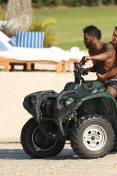 Daphne Joy and Jason Derulo - Enjoy Their Vacatoin at Casa Aramara in Punta Mita, March 2016